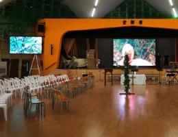 ph2.5+ph3室内全彩色屏亮相香港学校