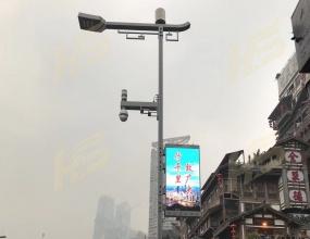 智慧城市-智能LED灯杆屏